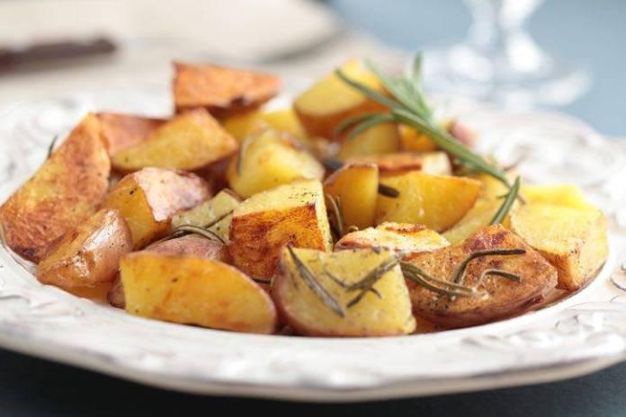 patate al forno al rosmarino