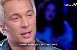 Andrea Mainardi, le rivelazioni amare su suo padre