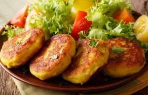 Medaglioni di patate prosciutto e formaggio