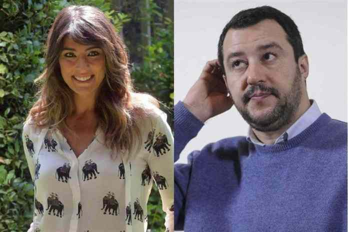Elisa Isoardi, è battaglia social con Salvini