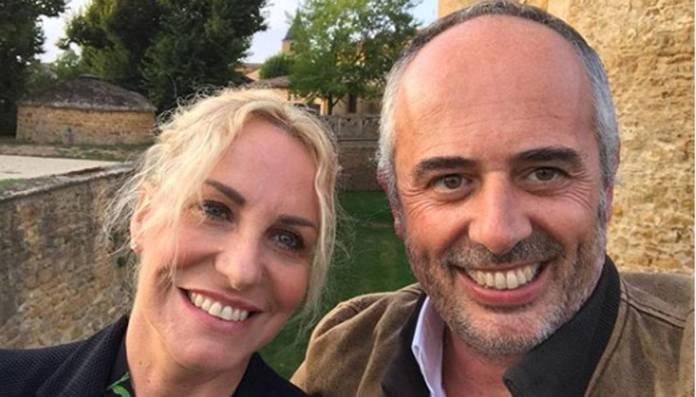 Antonella Clerici festeggia il suo compagno