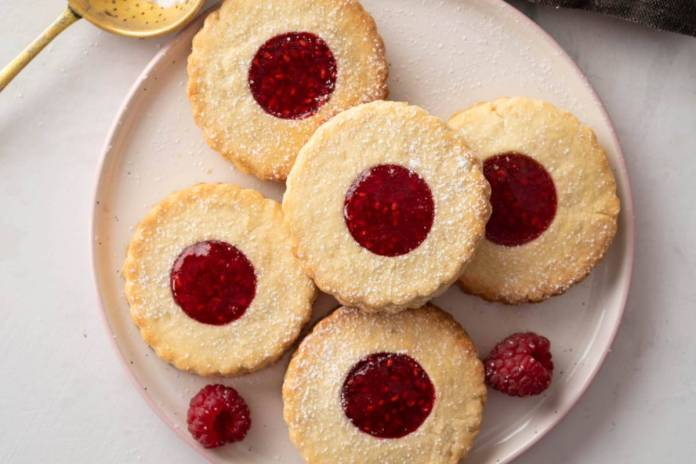 Biscotto dolce 5 minuti alla marmellata