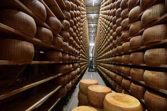 Parmigiano-Reggiano francese