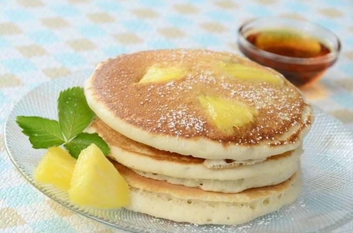 Pancake all'Ananas - Ricettasprint.it