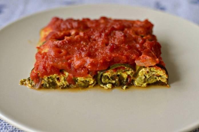 cannelloni di zucchine senza carne