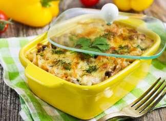 gratin di uova e funghi - ricettasprint.it