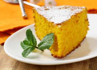 Torta light alle carote