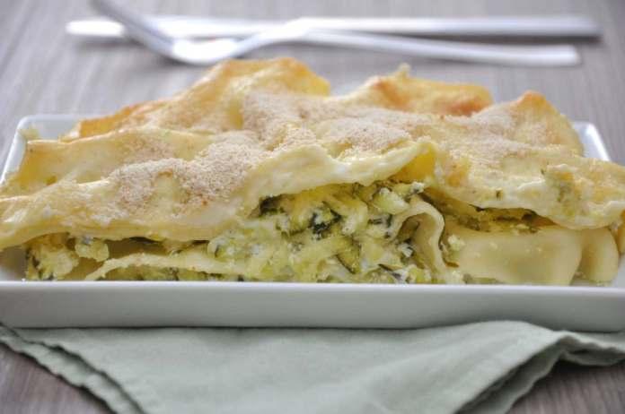 Lasagne con zucchine e ricotta