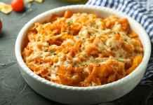 Pasta al forno con ricotta e pomodoro