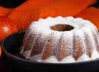 Ciambella con farina di riso ed arancia