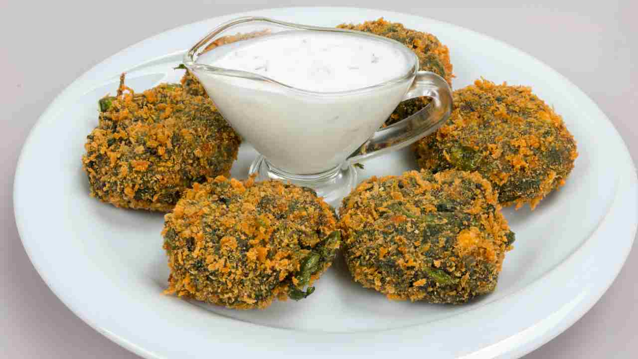 Polpette di ceci e spinaci ricetta preparazione ingredienti