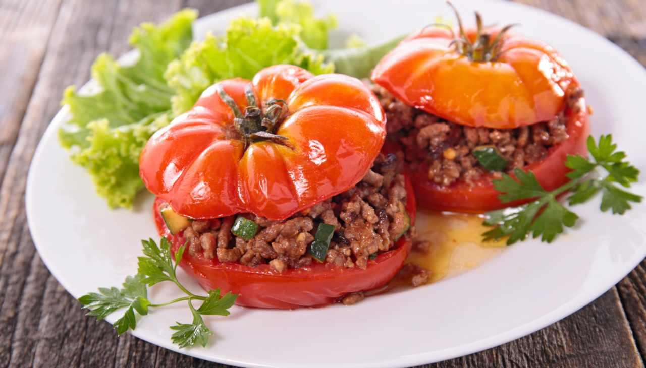 Finger food di verdura farcito