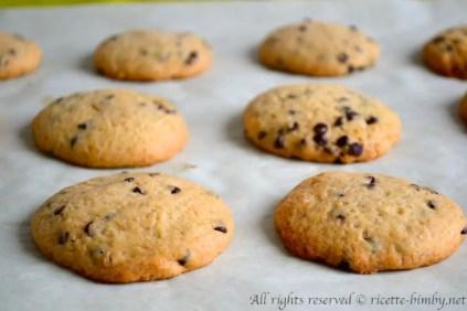 Biscotti con gocce di cioccolato bimby 1