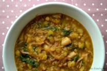Zuppa di polpo, patate e ceci bimby 2