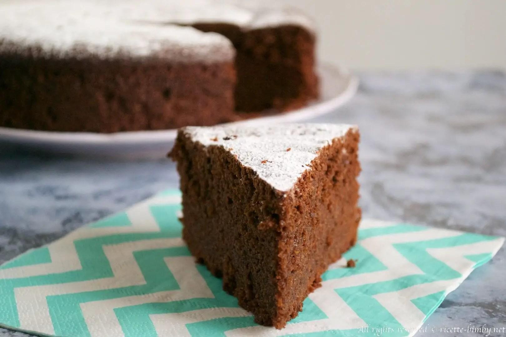 Torta al cioccolato e caff al Ginseng Bimby  Ricette Bimby