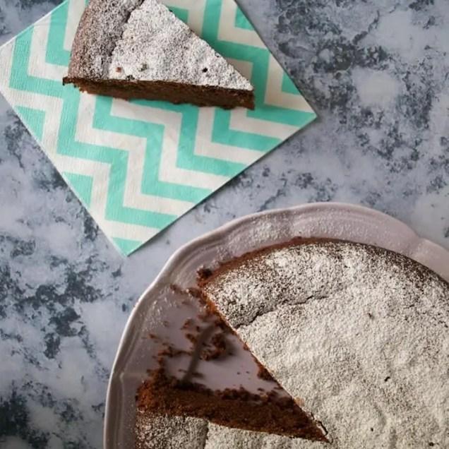 Torta al cioccolato e caffè al ginseng bimby