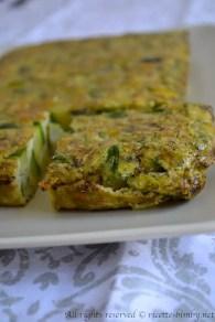 Frittata di asparagi e zucchine bimby 5