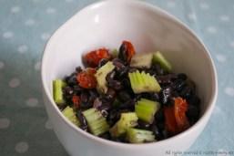 Insalata di fagioli e pomodori secchi bimby