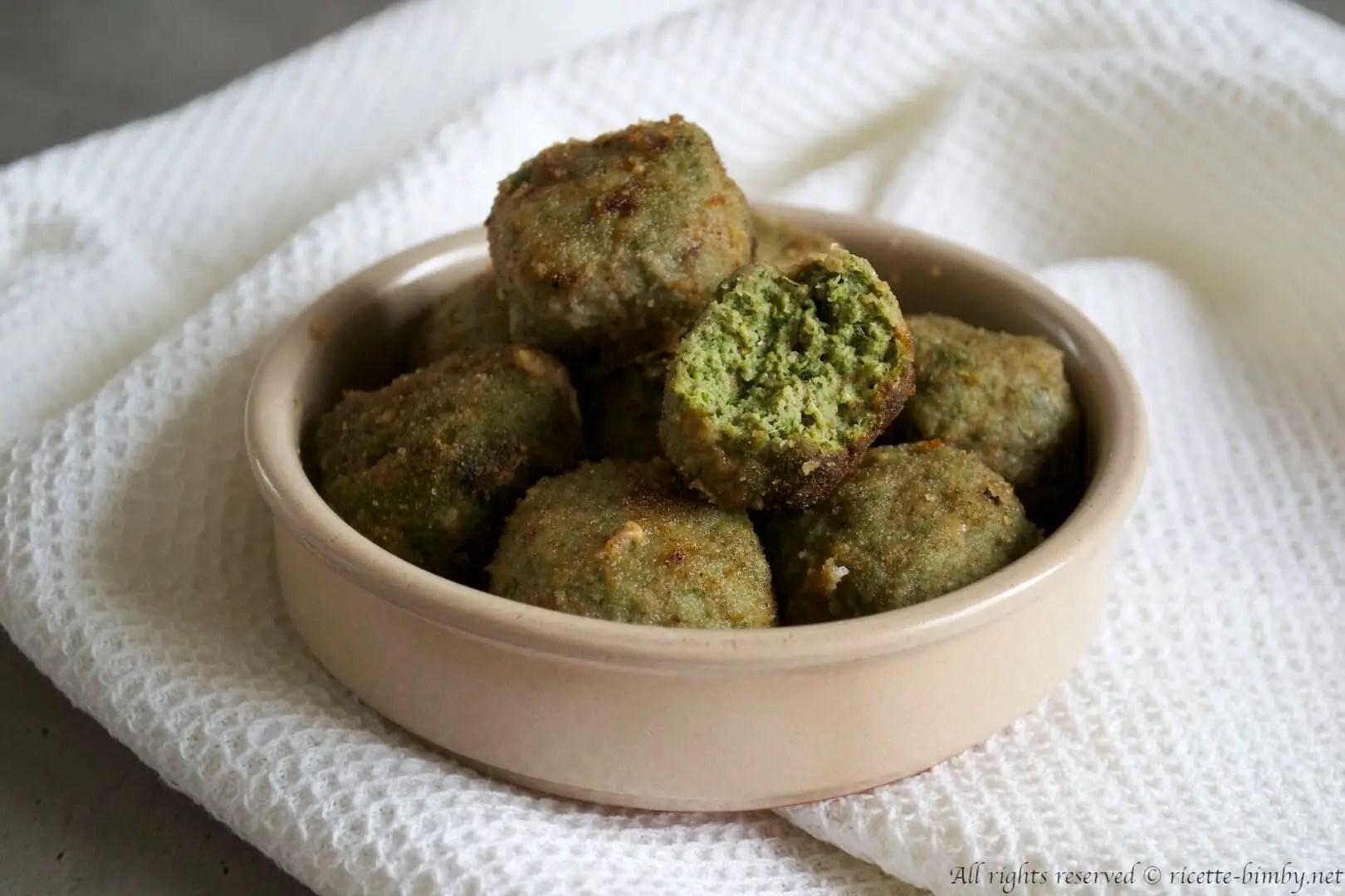 Polpette di carne e spinaci Bimby  Ricette Bimby