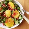 insalata arance melograno