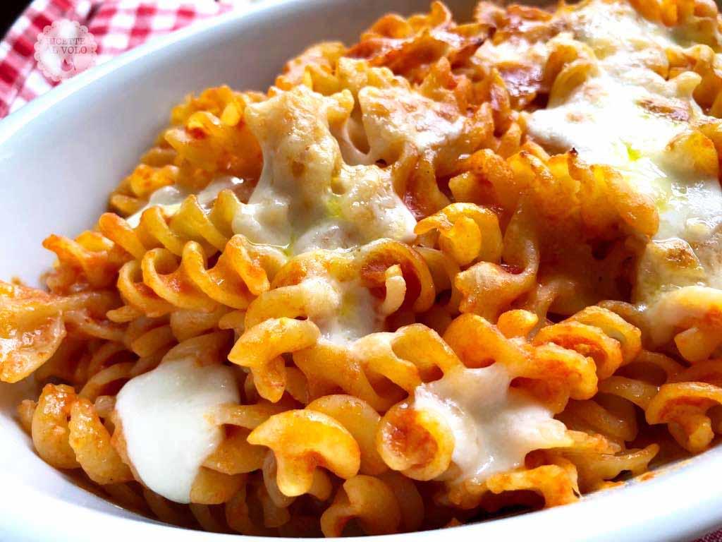 Pasta Gratinata Al Forno Con Mozzarella Ricette Al Volo