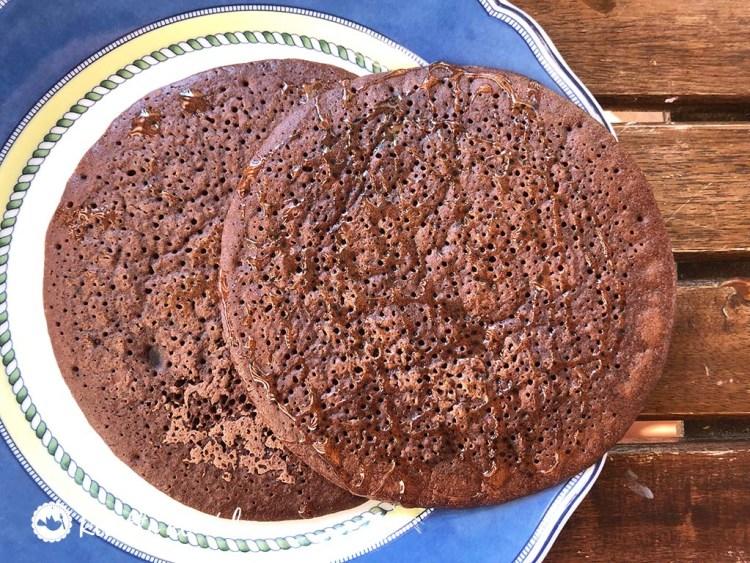 Come fare i pancake proteici al cacao
