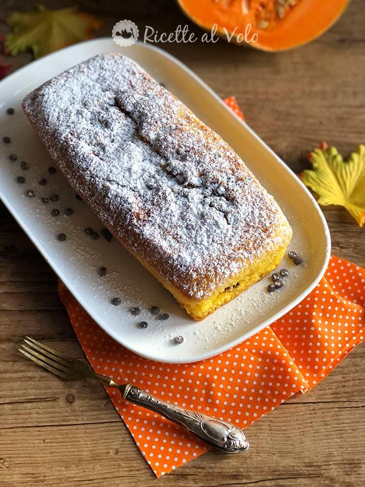 Plumcake- zucca-gocce-di-cioccolato-
