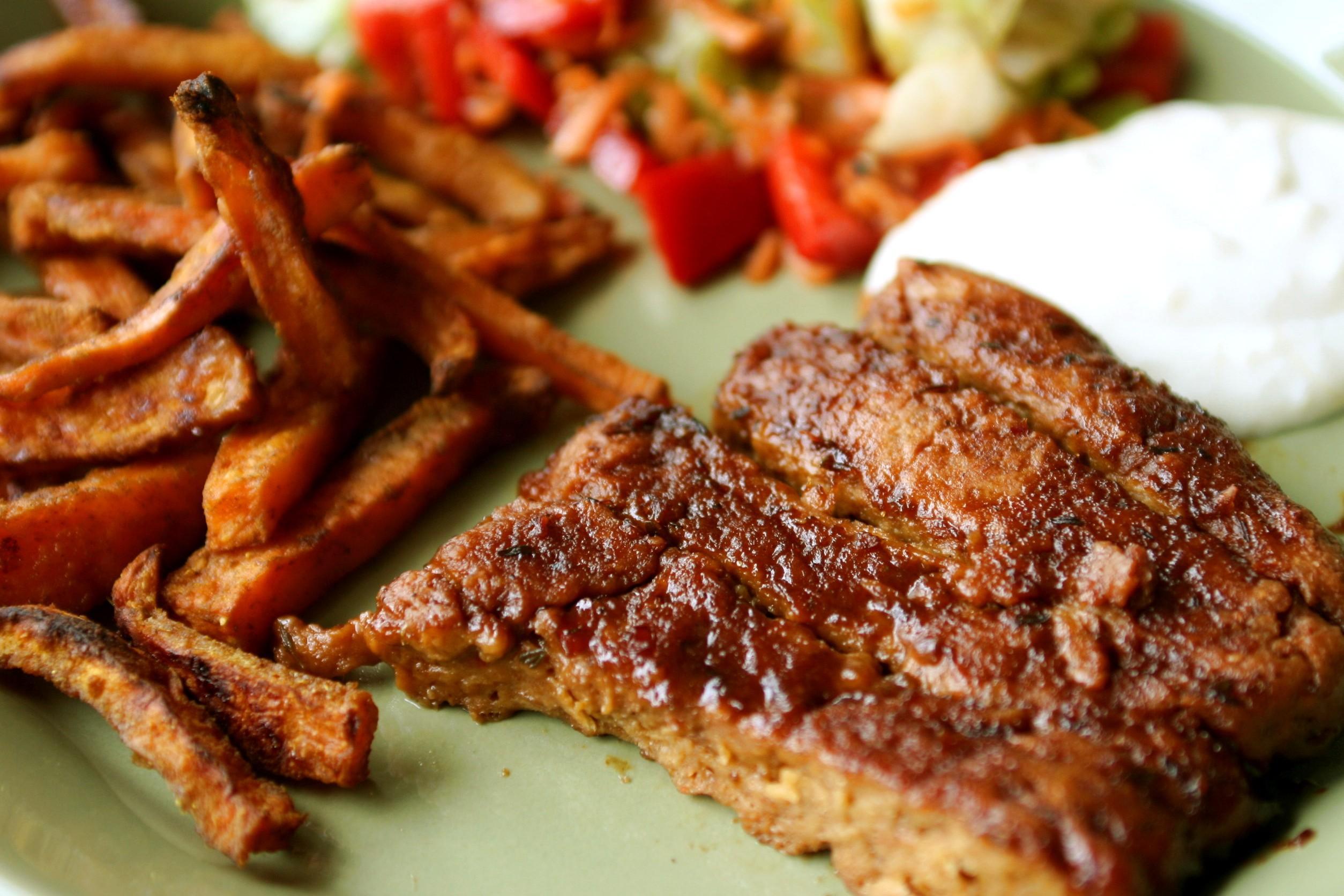 Ricetta vegetariana bistecche di soia  Ricette a tavola