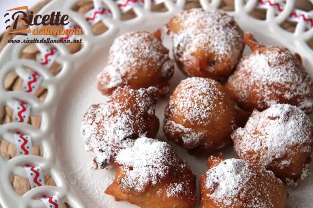 Fritole di Carnevale  Ricette della Nonna