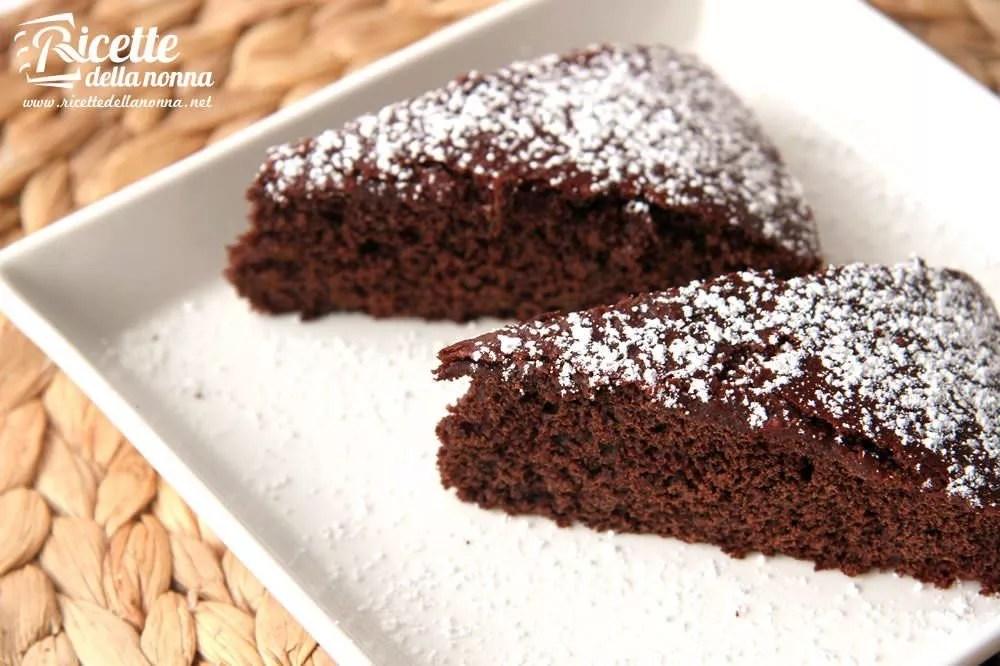 Torta light al cioccolato senza burro  Ricette della Nonna