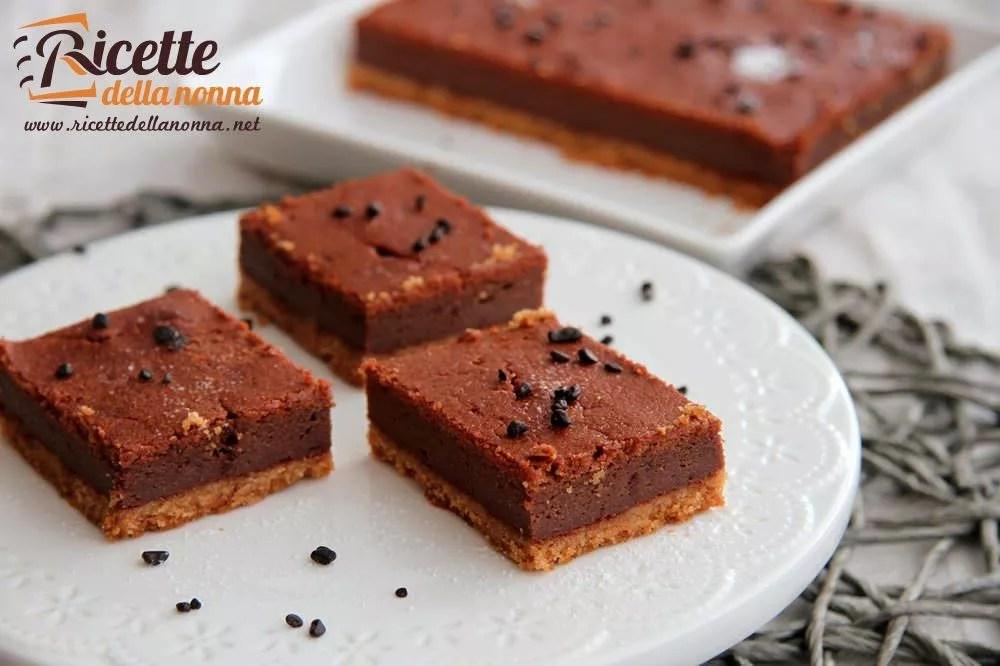 Torta di ricotta al cioccolato  Ricette della Nonna