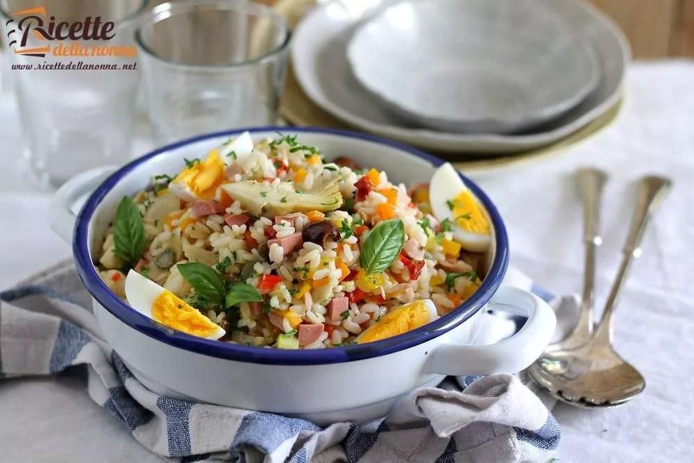 Insalata di riso  Ricette della Nonna