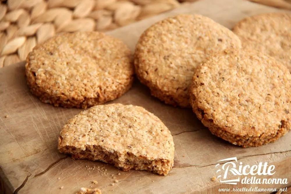 Biscotti ai cereali tipo Grancereale  Ricette della Nonna