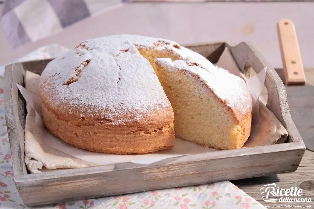 Ricetta torta Paradiso  Ricette della Nonna