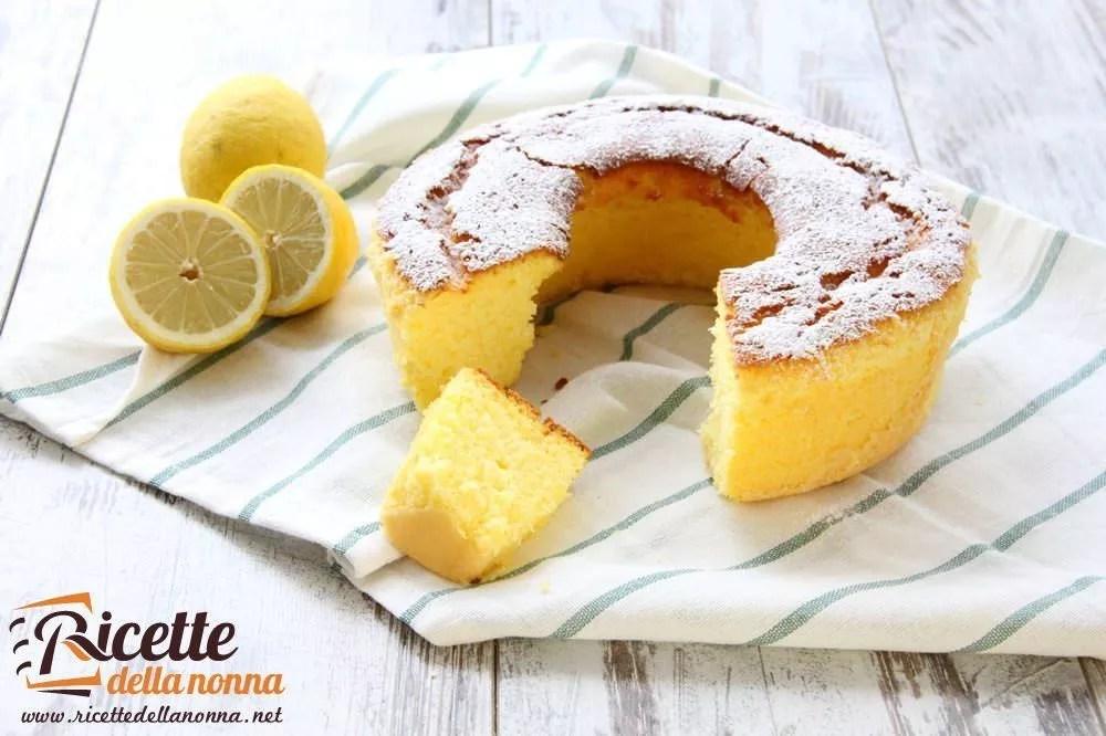 Ciambellone al limone  Ricette della Nonna