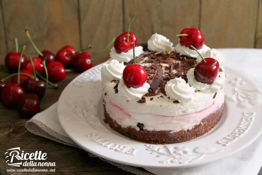 Cheesecake Foresta Nera  Ricette della Nonna