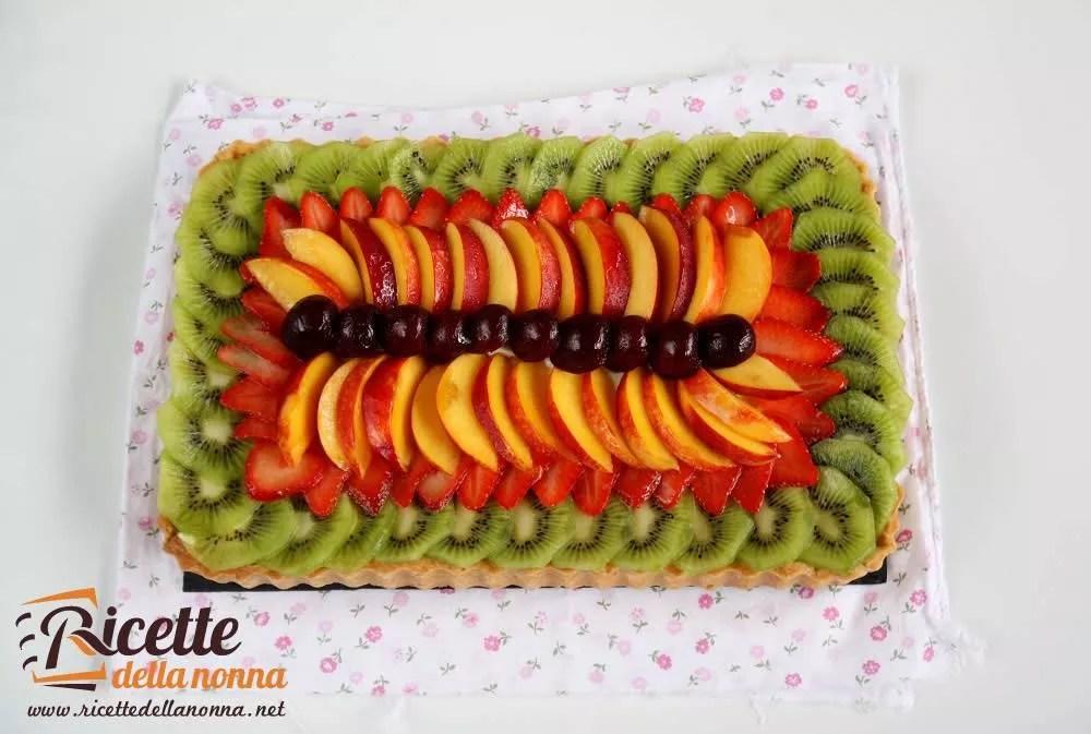 Crostata alla frutta con crema al lime  Ricette della Nonna