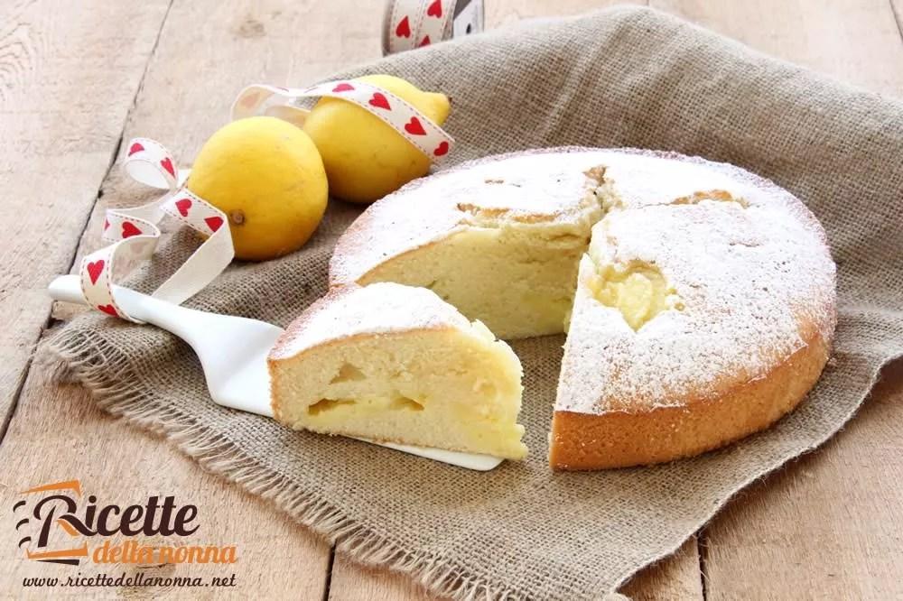 Torta sofficissima alla crema di limone  Ricette della Nonna