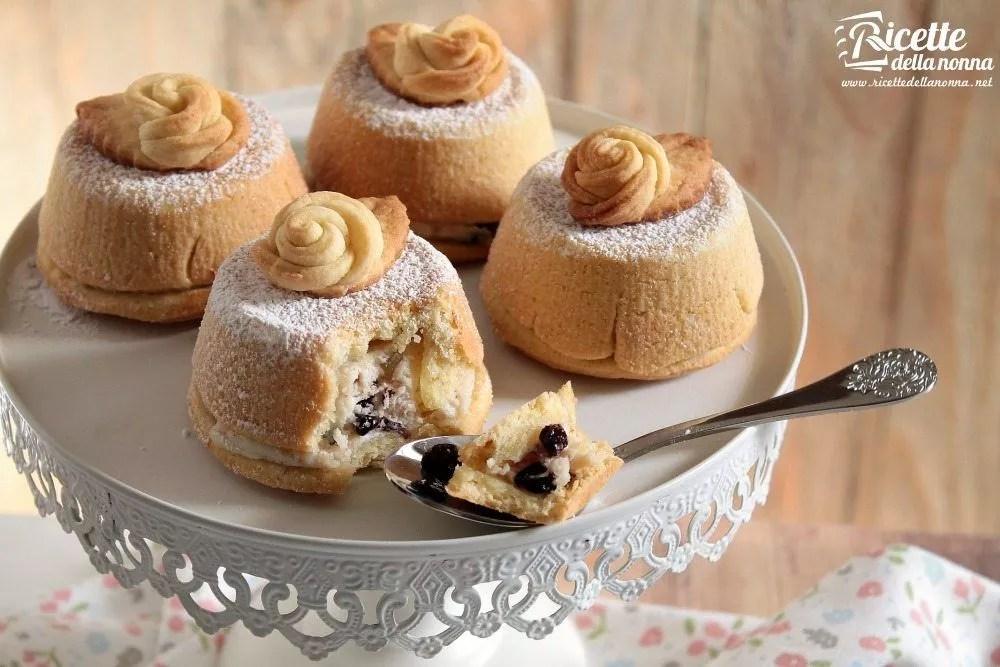 Mini cassate al forno  Ricette della Nonna