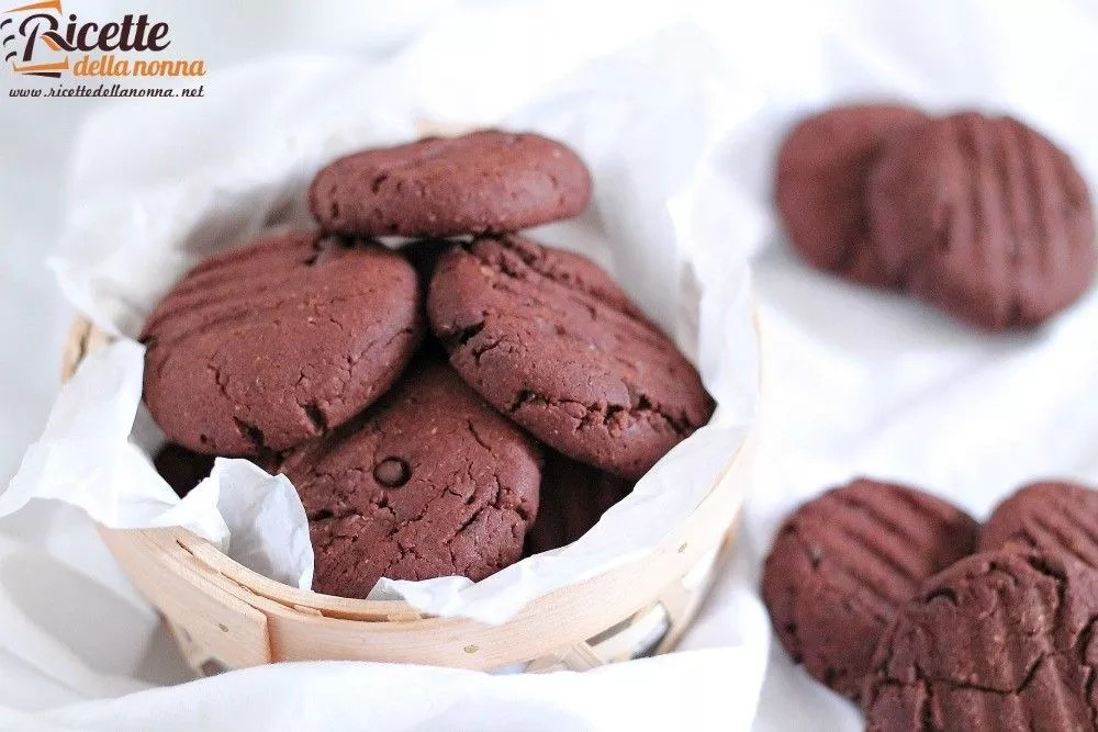 Biscotti al doppio cioccolato senza uova e senza burro  Ricette della Nonna