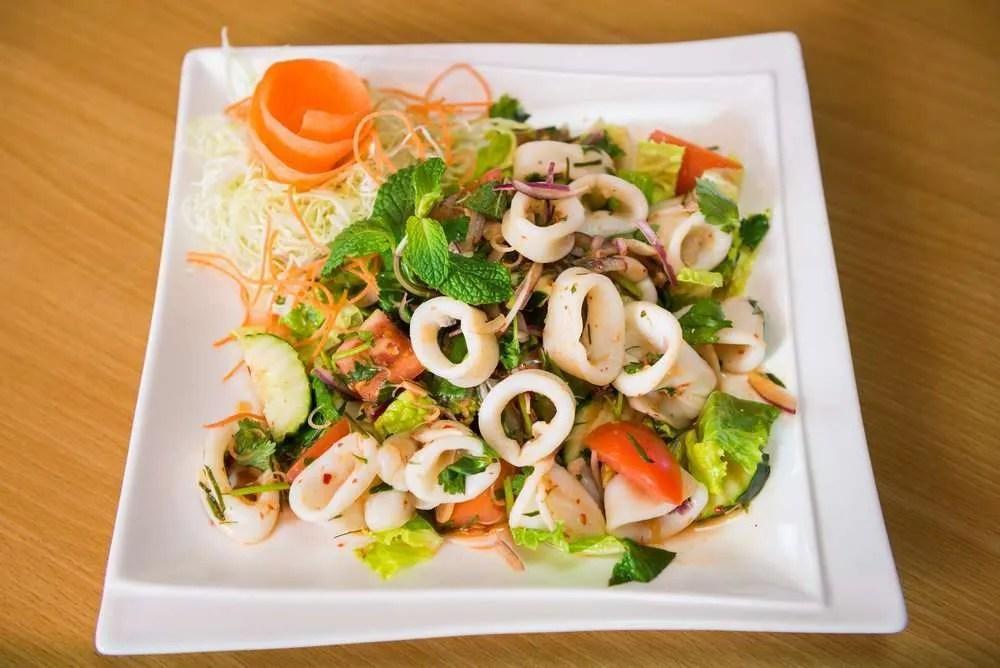 Seppie allinsalata buonissima insalata di mare genuina e sfiziosa