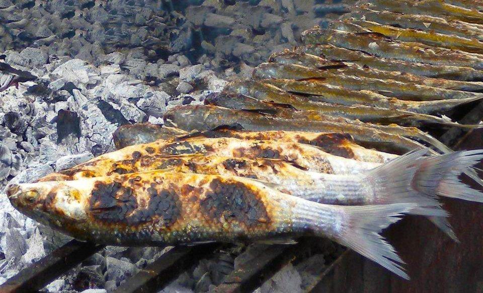 Muggini arrosto  Ricette di Sardegna