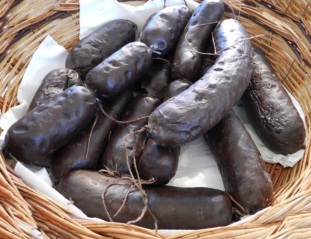 Sanguinaccio di maiale  Ricette di Sardegna