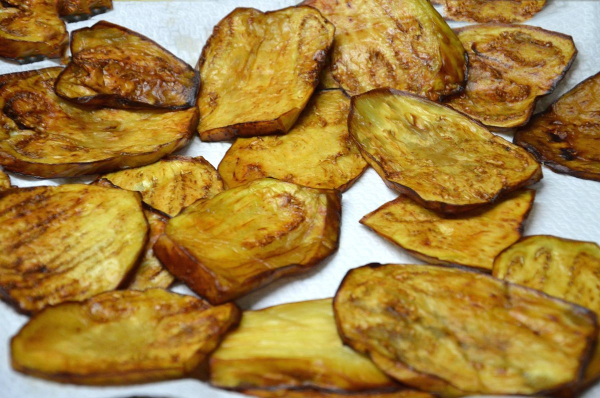 Melanzane fritte  Ricette di Sardegna