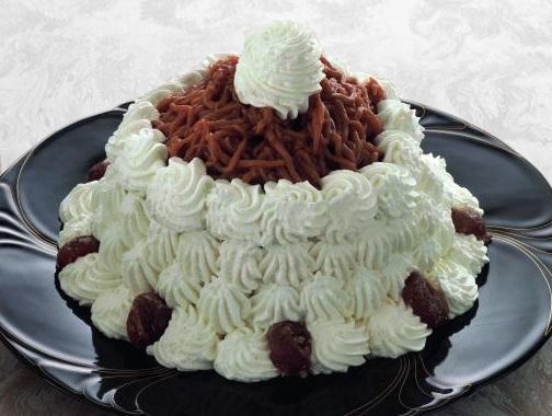 Ricetta Monte Bianco il dolce di castagne  Ricette Facili e Veloci