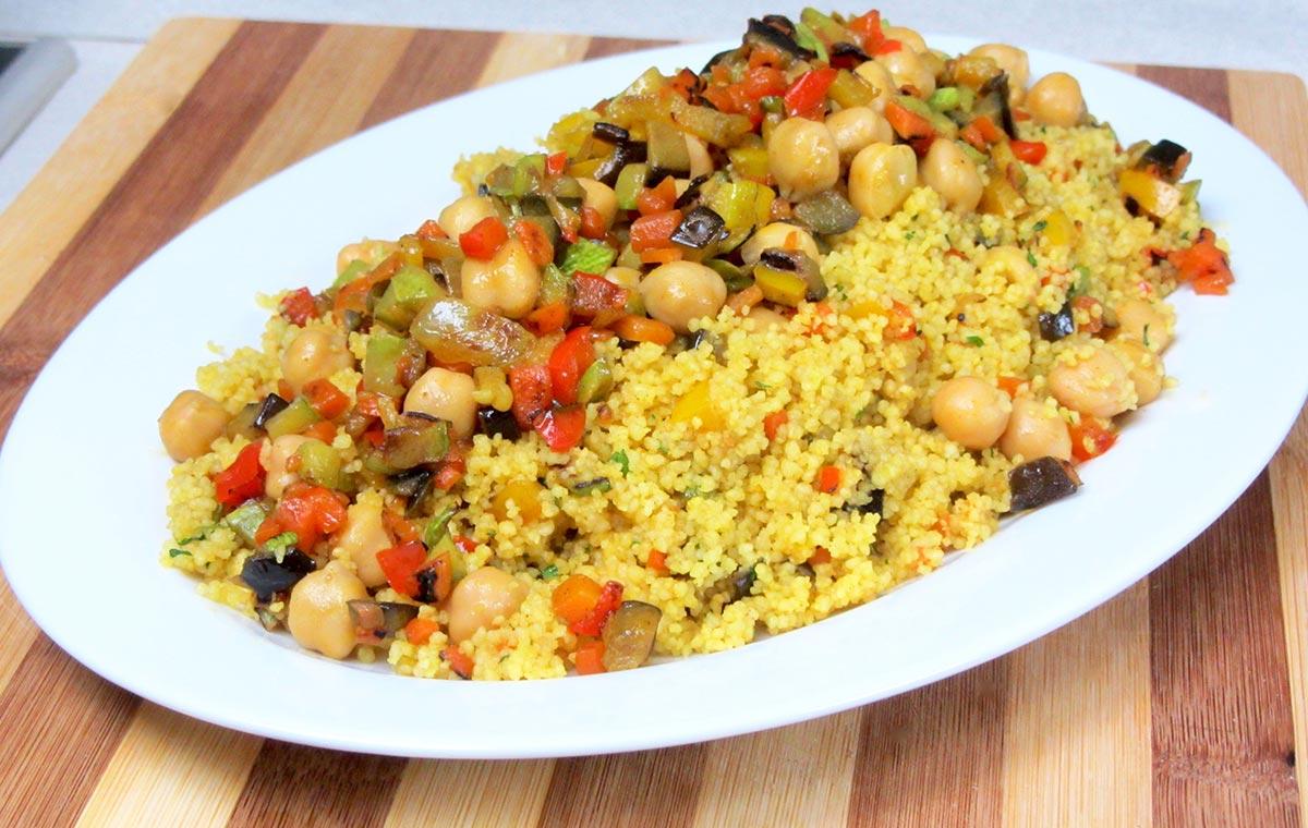 Cous cous con verdure al curry un ricetta speziata e