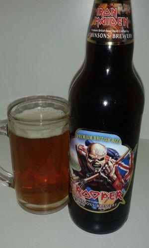 trooper birra degli iron maiden