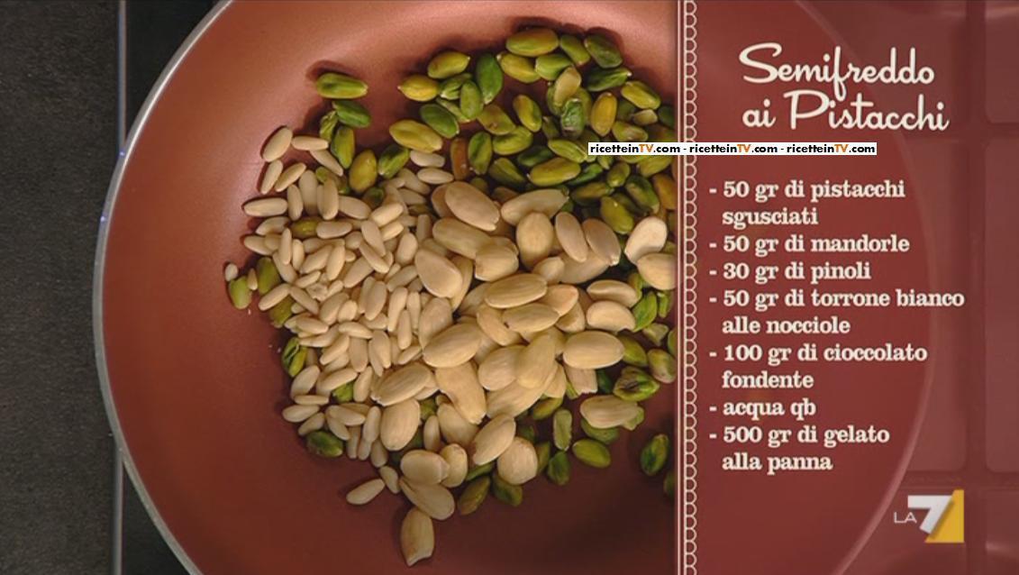 I menu di Benedetta la ricetta del semifreddo ai
