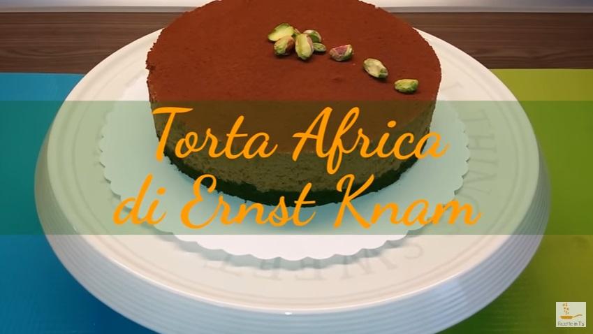 Video  Ricetta torta Africa di Ernst Knam  Mousse al