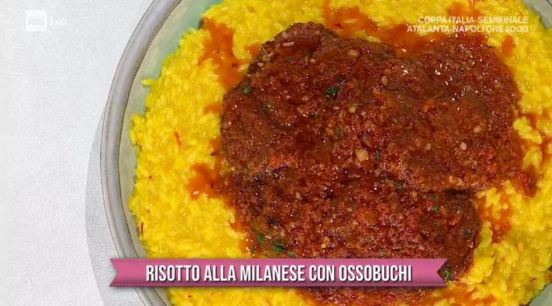 risotto alla milanese con ossobuchi di Sergio Barzetti